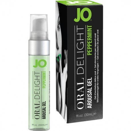 Jo Gel Excitador de Placer Oral Menta 30 ml