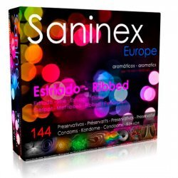 Aromatic ribbed condoms 144 units