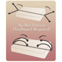 Fetish Fantasy bondage Kit for bed