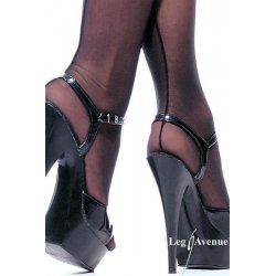 Black stockings with Backseam