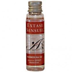 Huile de massage chaleur phéromones fruit de la passion 30 ml