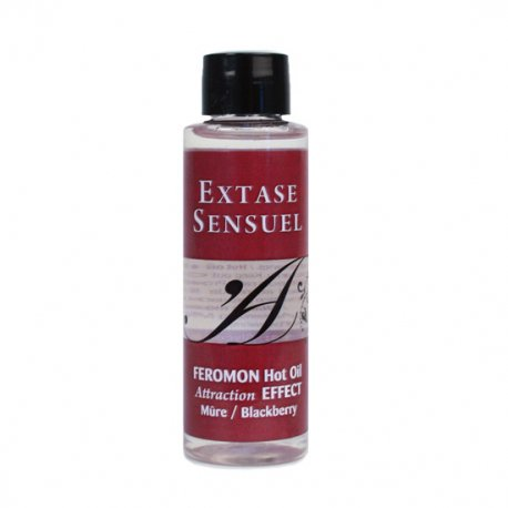 Aceite de Masaje Efecto Calor con Feromonas Mora