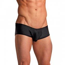 Homme Boxer noir Mini Micro