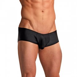Micro Mini Boxer Negro Hombre