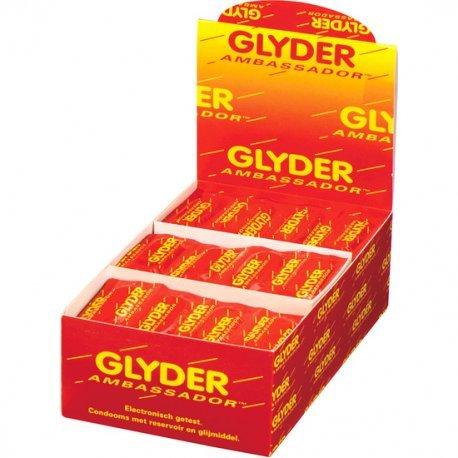 Preservativos Glyder Ambassador (Caja 144 unidades)