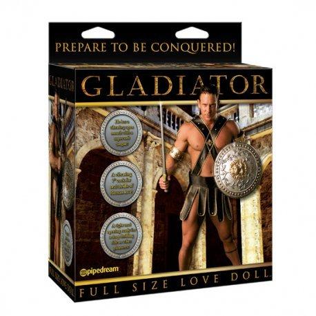 Muñeco Hinchable Gladiador Tamaño Real