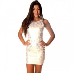 Aeryn white dress