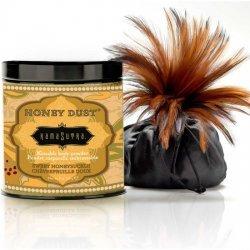Poussière de miel sucré chèvrefeuille