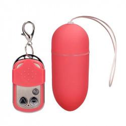 Huevo Vibrador 10 Velocidades Control Remoto Rosa Grande