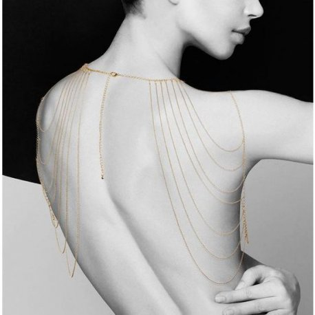 Metal chain for shoulder and back The Magnifique
