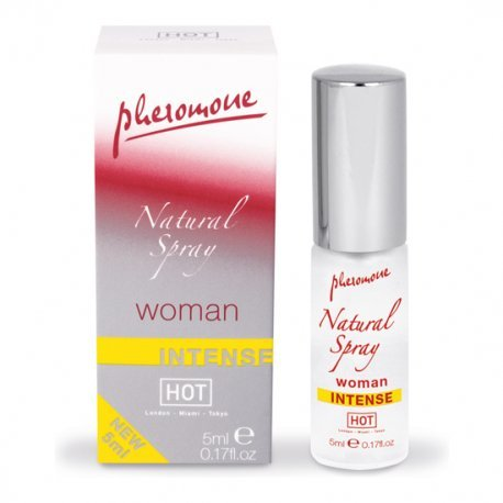 Spray de Feromonas Natural Intenso para Mujeres 5 ml