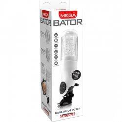 PDX Mega Bator USB Mastrubador Masculino Vagina Blanco