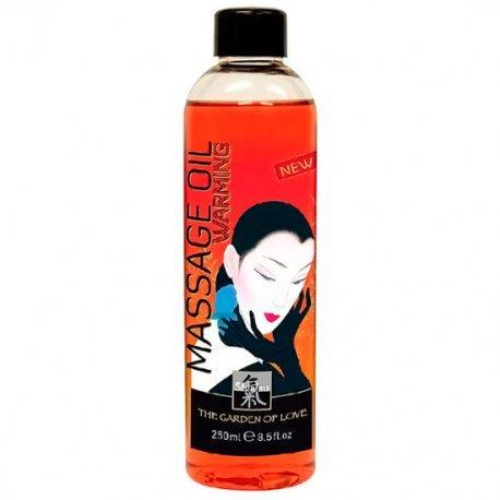 Shiatsu Aceite de Masaje Efecto Calor 250 ml