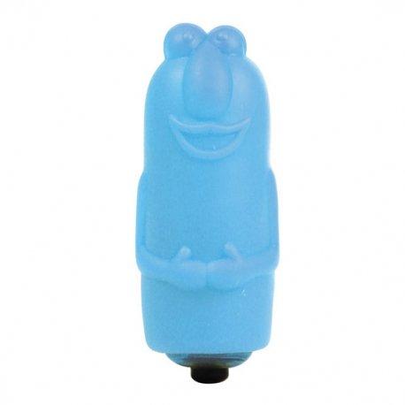 Enjoyable Bala Vibradora con Funda de Salchicha Adorable Azul