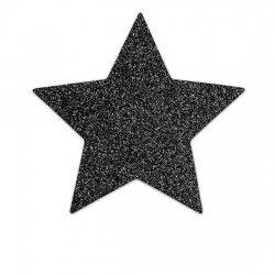 Cubrepezones Flash Estrella Negra