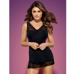 Cheatings Obsessive Miamor Chemise & Thong black