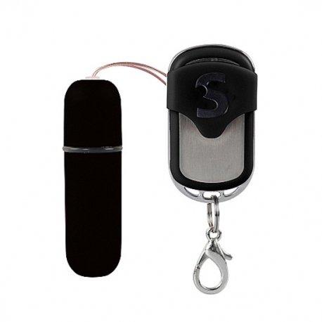 Bala Vibradora Control Remoto 10 Funciones Negro