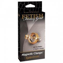 Fetish Fantasy Gold Pinzas para Pezones