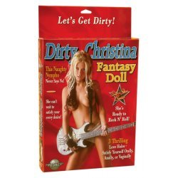 Dirty Christina blow-up doll