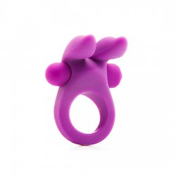 Vibrating ring with purple Bunny