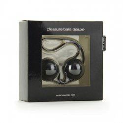 Pleasure Balls Deluxe Bolas Chinas Negro