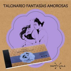 Happy Lola Talonario Fantasías Amorosas
