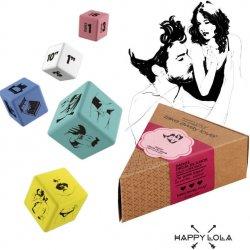 Happy Lola dice orgy of love