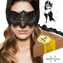 Happy Lola mask black