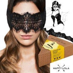 Heureux masque Lola noir