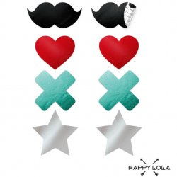 Happy Lola Sexy Pasties / Set 4 adhesive liners