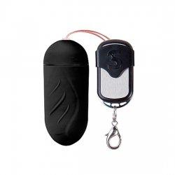 Trépointe de vibromasseur oeuf 10 vitesses télécommande noir large