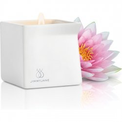 Jimmy Jane pink Lotus massage candle