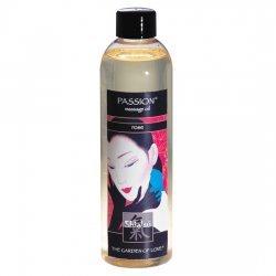 Huile de massage rose aphrodisiaque de Shiatsu
