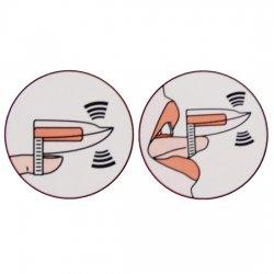 Vibrating tongue ring Color skin
