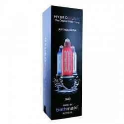 Bathmate Hydromax X40 Rojo Brillante