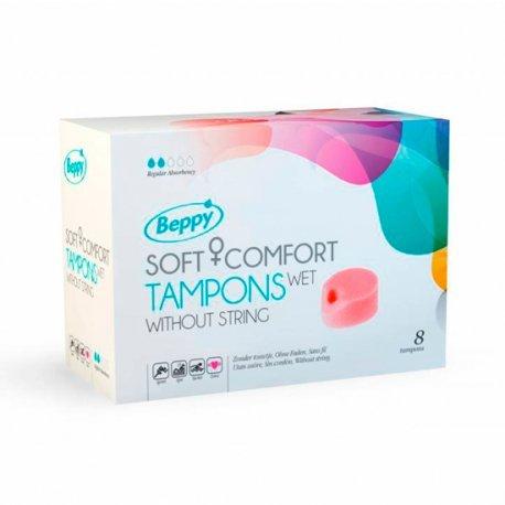 Beppy Tampones Lubricados 8 Uds