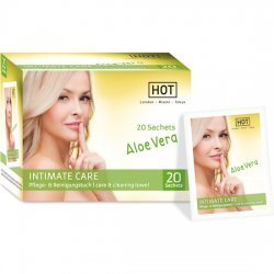Hot Intimate hygiene wipes Care intimate