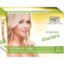Hot Intimate Care Toallitas Higiene Íntima