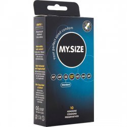 My Size Preservativos 57 mm 10 Uds