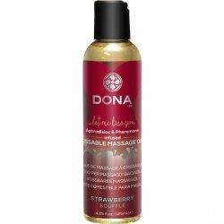 Dona massage huile saveur fraise 120 ml
