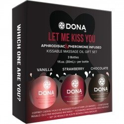 Massage kissable oil gift set