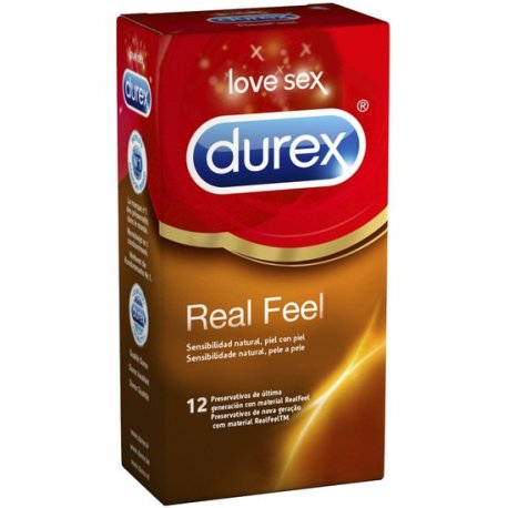Durex Sensitivo Real Feel 12 Uds - diversual.com