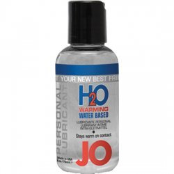 Jo H20 lubricant water based effect heat 75 ml