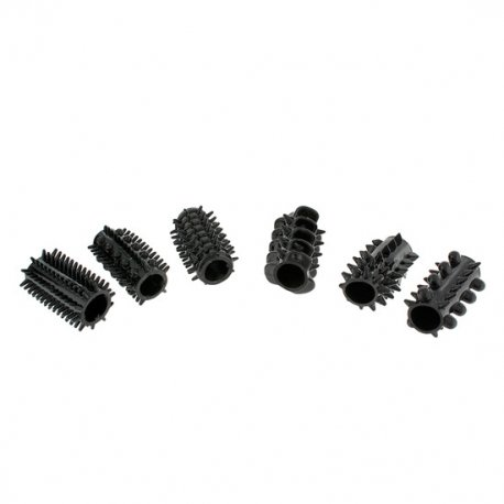 Fundas para el Pene Power Penis Sleeve 6 Pcs Negro
