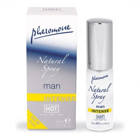 Hot Spray Natural de Feromonas Intenso para Hombres 5 ml - diversual.com