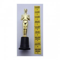 Trophy Oscar for girl several times