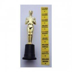 Trophy Oscar for girl several times