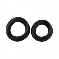 The two sizes black penis rings