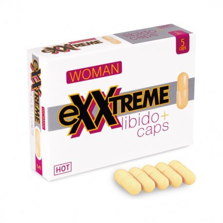 Cápsulas Afrodisíacas Exxtreme Mujer Libido 5 Uds