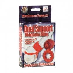 Anillo Vibrador Dual Support Magnum